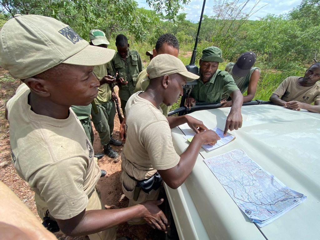 rangers plan patrol to catch poachers Mark Hiley