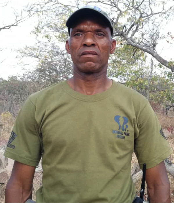 National Park Rescue Ranger Makamba 'Brown' Murambiwa