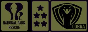 npr logo and cobra badge