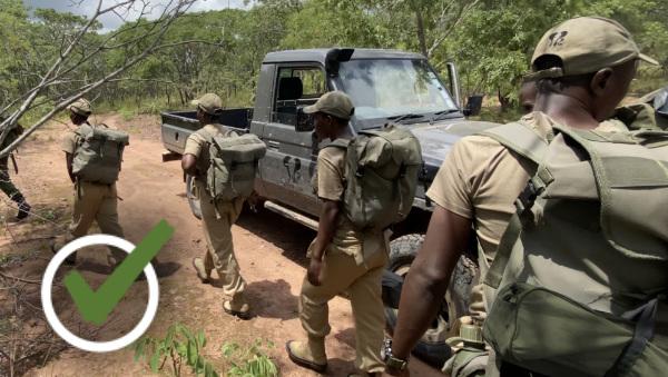 National Park Rangers on Patrol